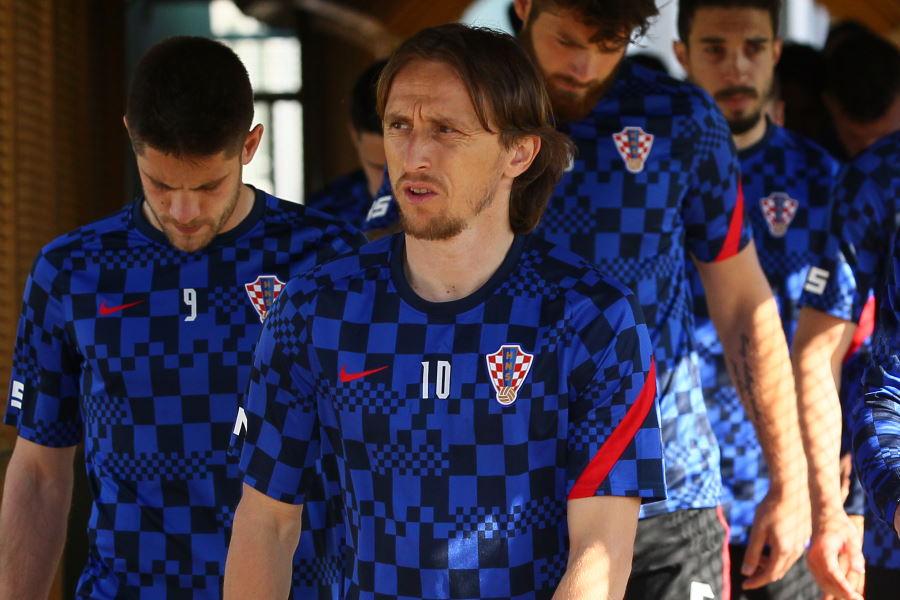 クロアチア代表のルカ・モドリッチ【写真:ロイター通信】