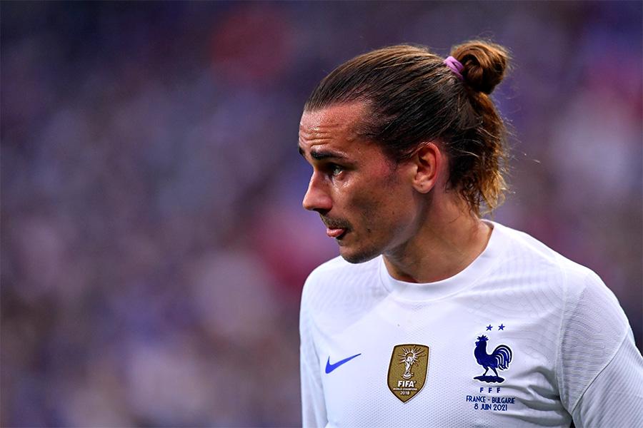 フランス代表で活躍するFWアントワーヌ・グリーズマン【写真:Getty Images】