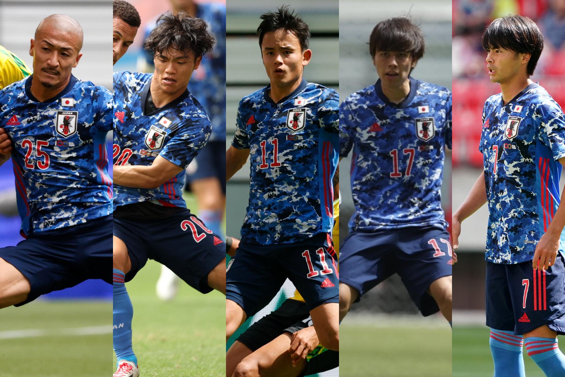 ジャマイカ戦の出場選手のパフォーマンスをチェック【写真:Yukihito Taguchi & Getty Images】