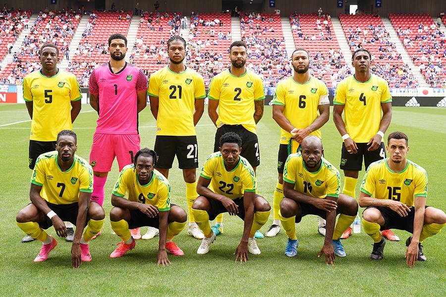 ジャマイカ代表の新ユニフォームが発表【写真:ⓒJFA】