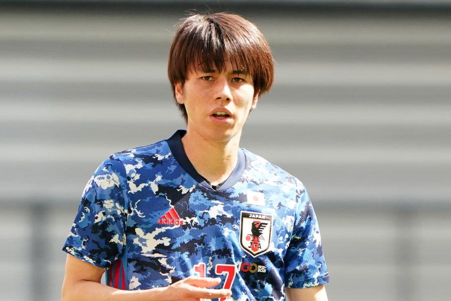 U-24日本代表MF田中碧のドイツ移籍が決定【写真:Getty Images】