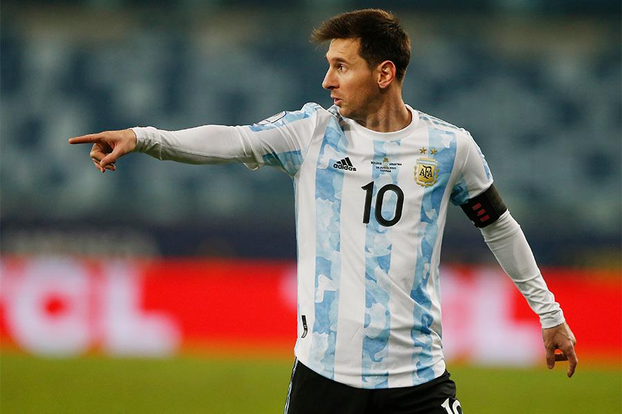 アルゼンチン代表FWリオネル・メッシ【写真:ロイター】
