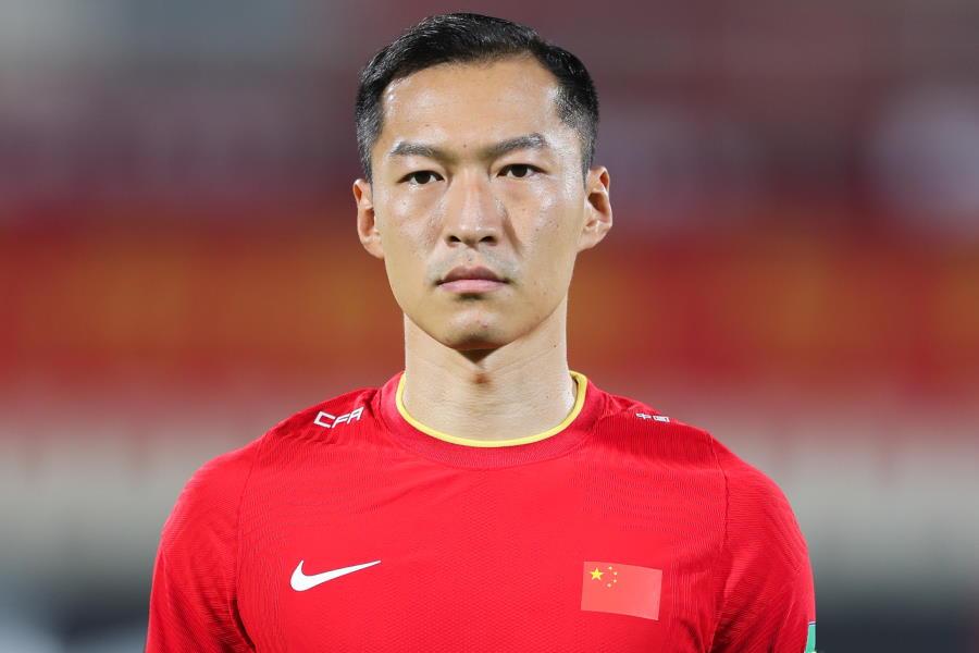 中国代表で主将を務めるベテランMFウー・シー【写真:Getty Images】