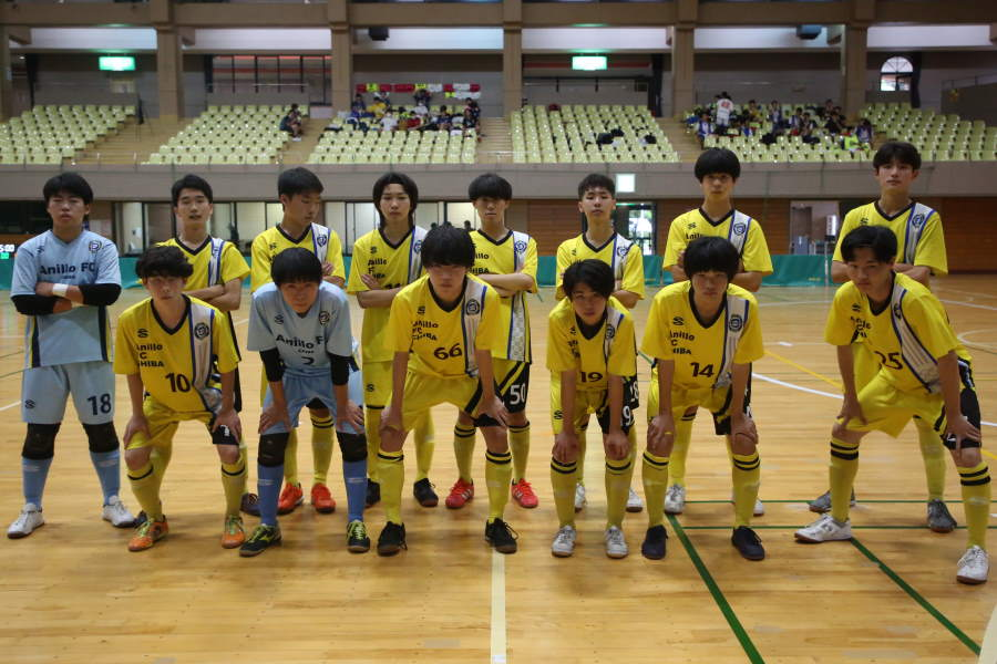 千葉県代表のアニージョFC千葉【写真:Futsal X・河合 拓】