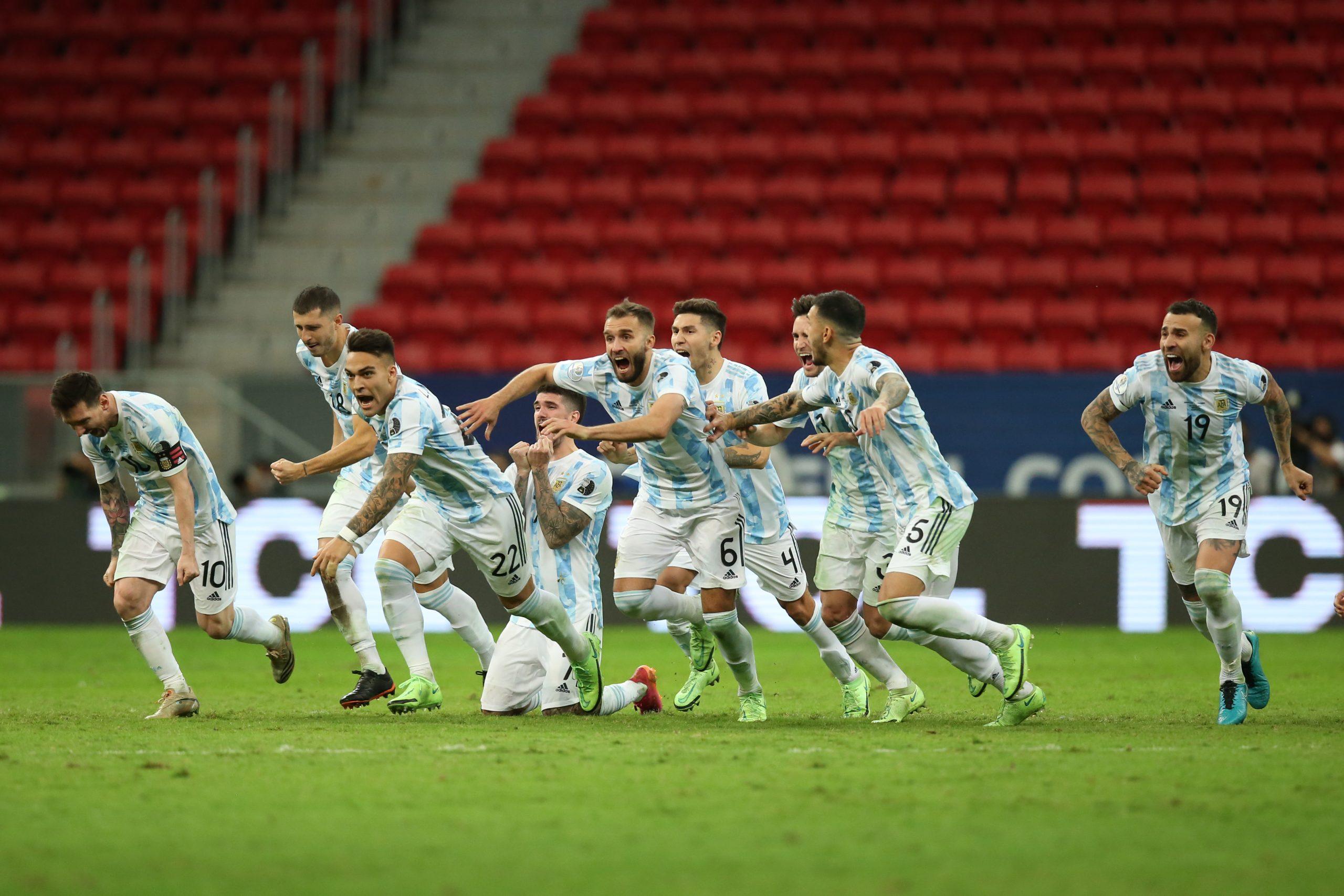 PK戦を制したアルゼンチンが決勝進出【写真:Getty Images】