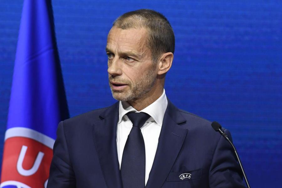 欧州サッカー連盟(UEFA)のアレクサンデル・チェフェリン会長【写真:Getty Images】