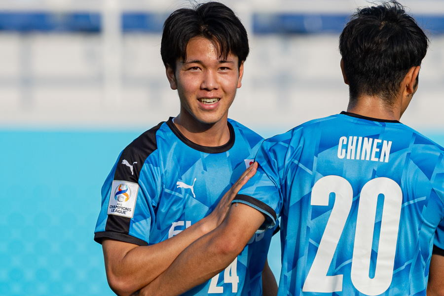 3ゴールに絡んだ川崎20歳FW宮城天【写真:AFC】