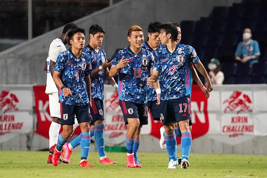 日本代表がホンジュラス相手に3得点を奪い勝利【写真:Getty Images】