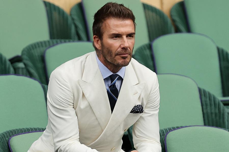 元イングランド代表MFデイビッド・ベッカム氏【写真:Getty Images】