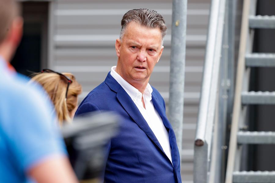 オランダ代表監督就任が噂されるファン・ハール氏【写真:Getty Images】