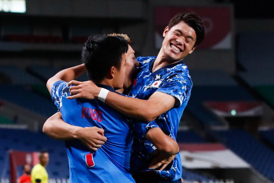 強豪メキシコを2-1で下した日本代表【写真:Getty Images】