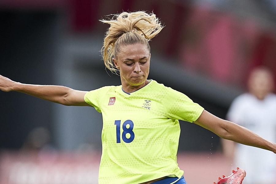 スウェーデン代表FWフリードリナ・ロルフォ【写真:Getty Images】