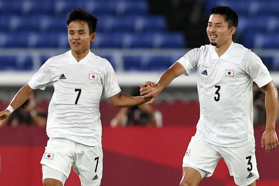 フランス相手に4-0の完勝を収めたU-24日本代表【写真:Getty Images】