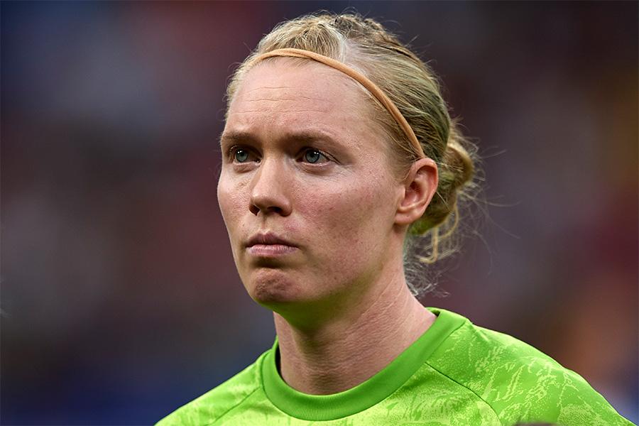 スウェーデン女子代表GKリンダール【写真:Getty Images】
