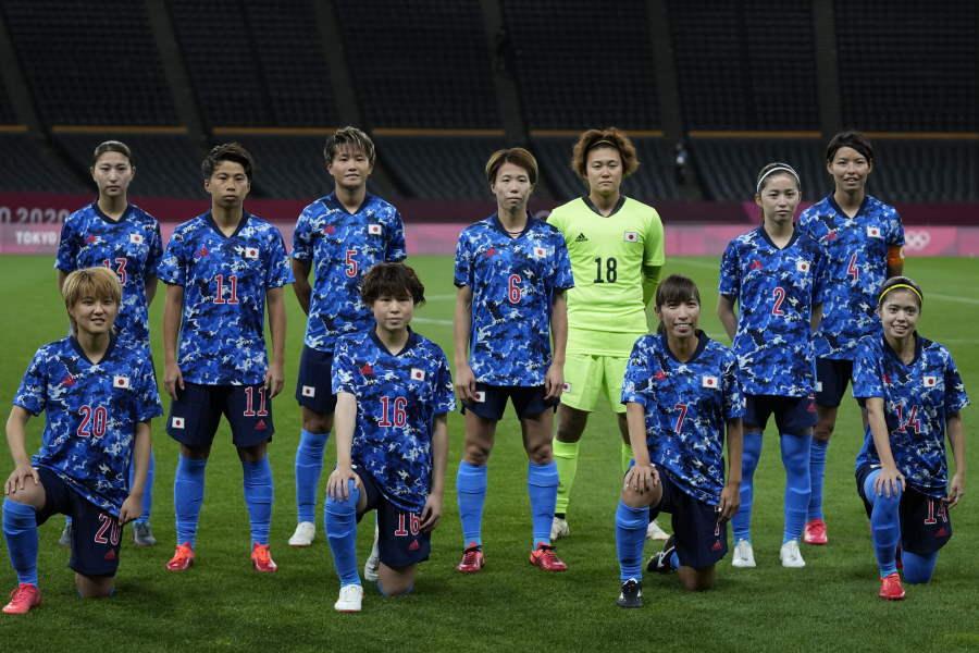 なでしこジャパンのスタメンが発表【写真:AP】