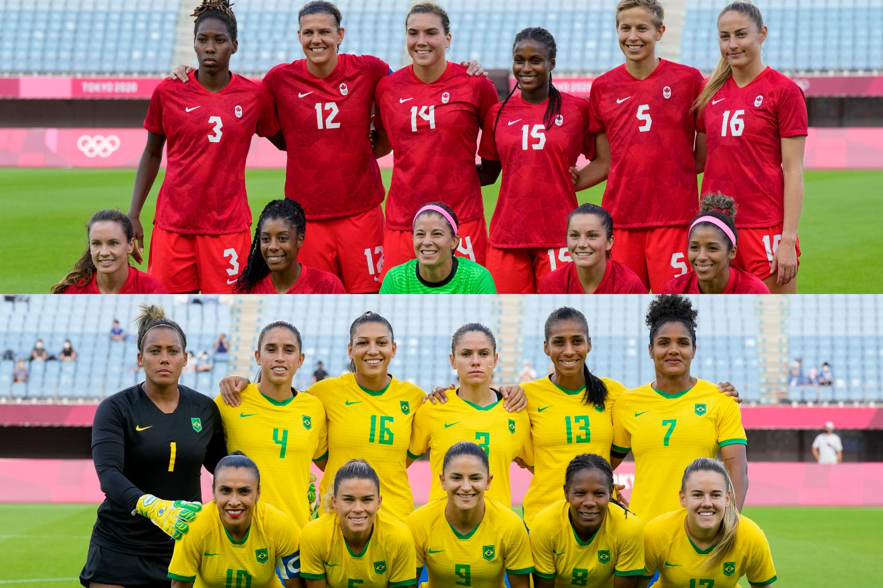 ブラジルとカナダの対戦での一幕に注目【写真:AP】