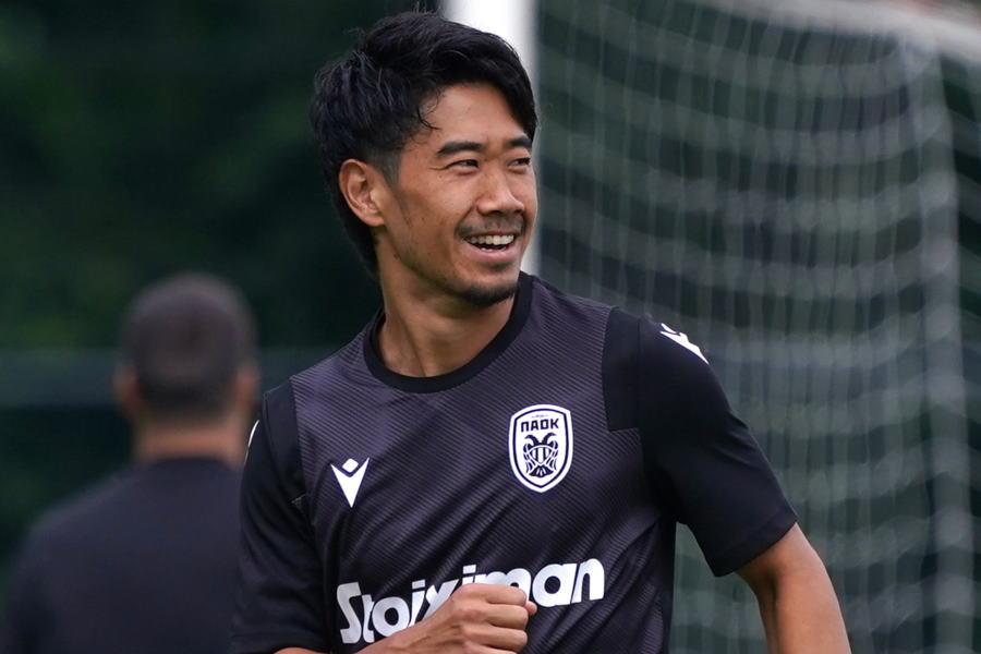 ギリシャリーグでプレーする元日本代表MF香川真司【写真:Getty Images】