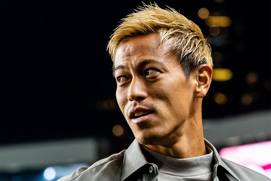 本田圭佑が「NowVoice」で五輪の準々決勝NZ戦を解説【写真:Getty Images】