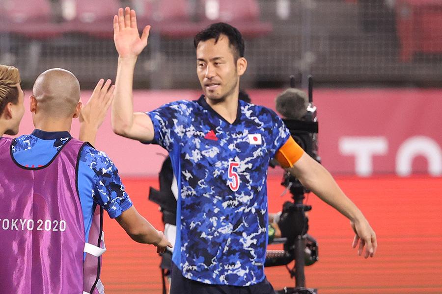 キャプテンとしてチームを牽引したDF吉田麻也【写真:Getty Images】