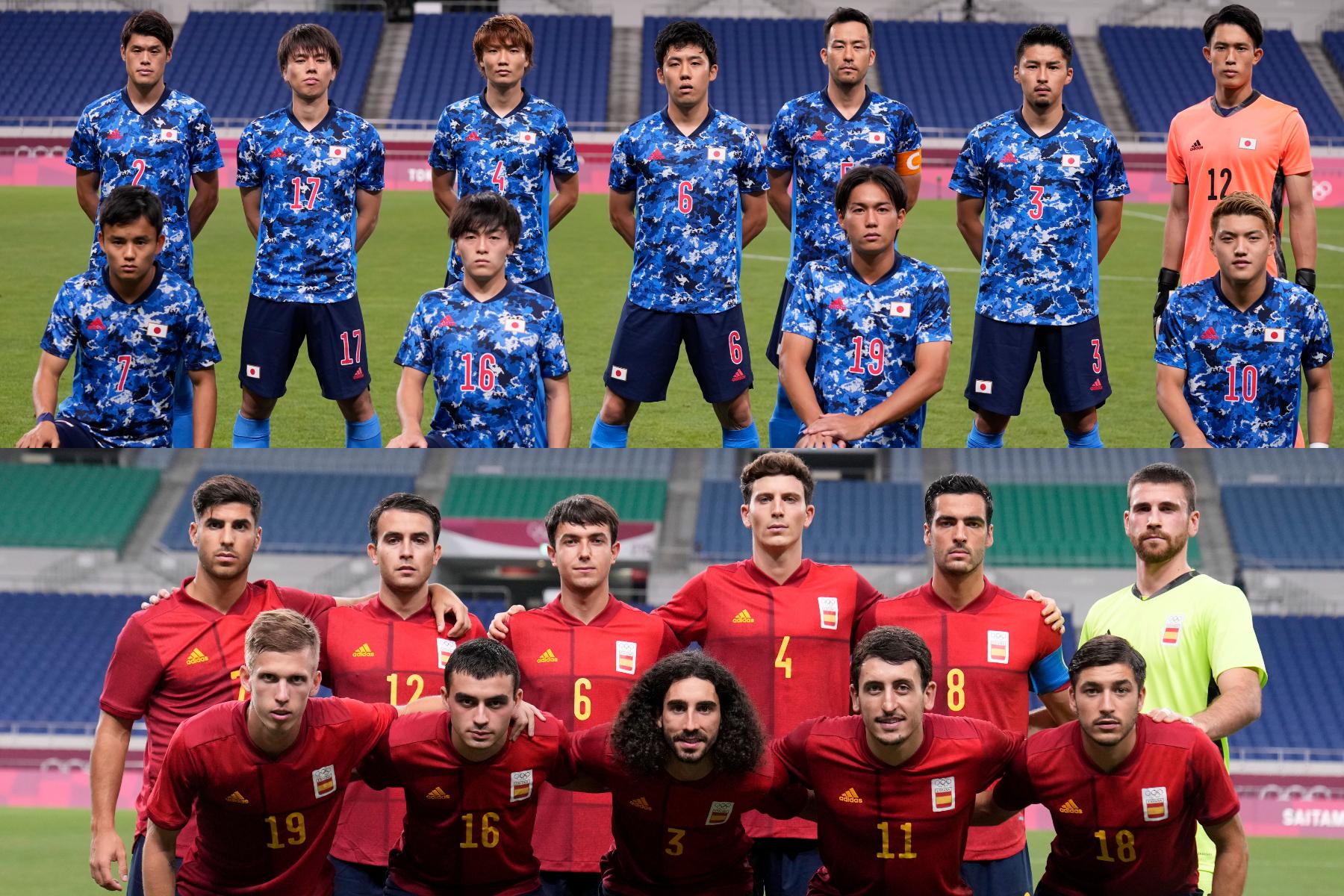 日本代表とスペイン代表が決勝進出をかけて対戦【写真:AP】