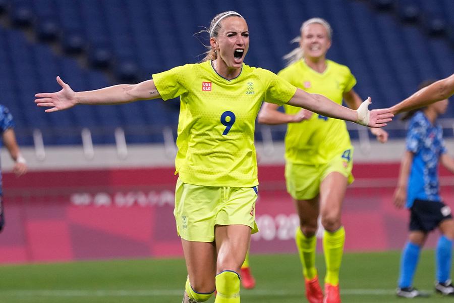 スウェーデン代表FWコソヴァレ・アスラニ【写真:AP】
