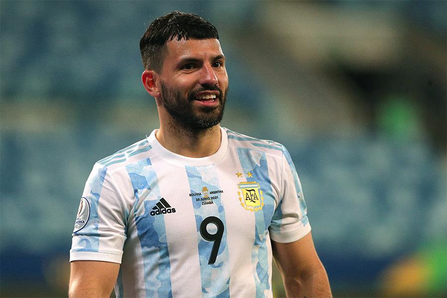 アルゼンチン代表FWセルヒオ・アグエロ【写真:Getty Images】