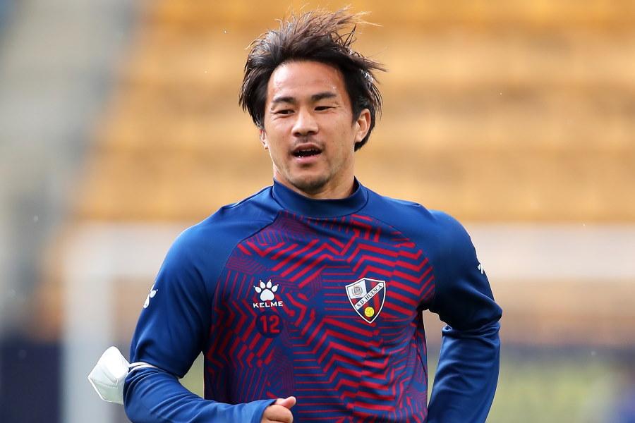 昨季限りでウエスカを退団した日本代表FW岡崎慎司【写真:Getty Images】