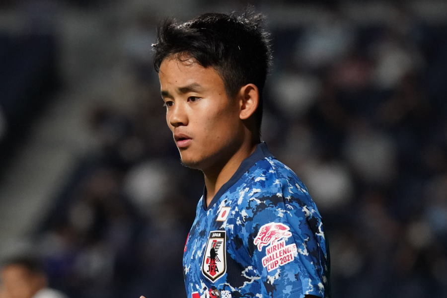 U-24日本代表の一員として東京五輪を戦ったMF久保建英【写真:Getty Images】