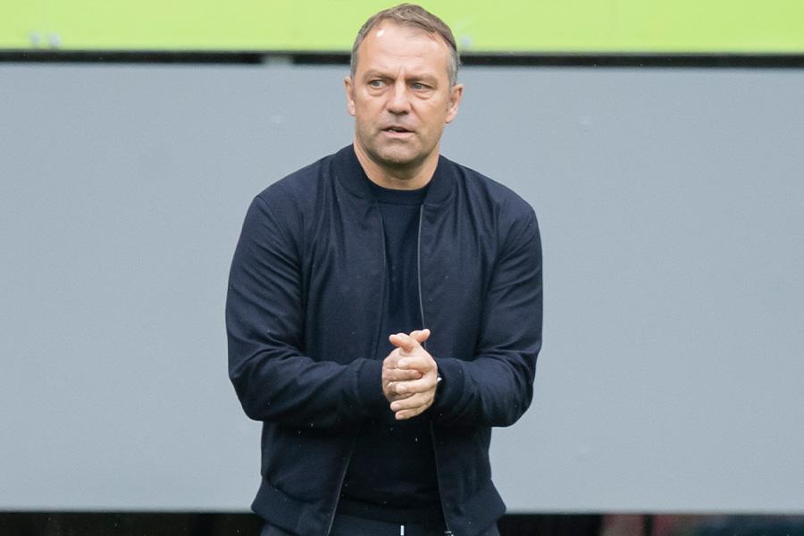 ドイツ代表の新監督に就任したハンジ・フリック【写真:Getty Images】