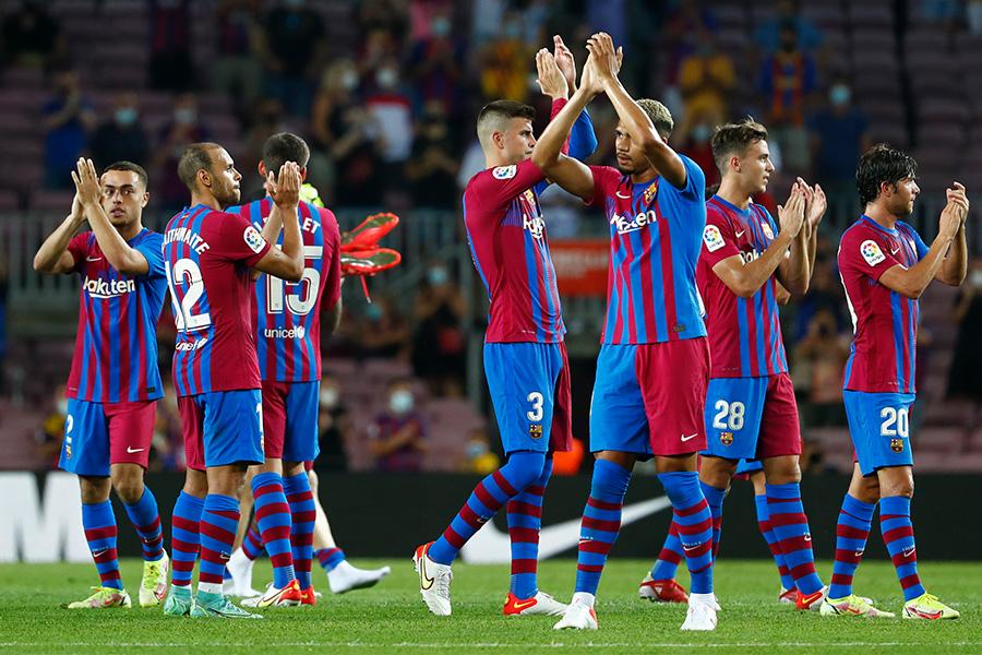 バルセロナが開幕戦でレアル・ソシエダに勝利【写真:AP】