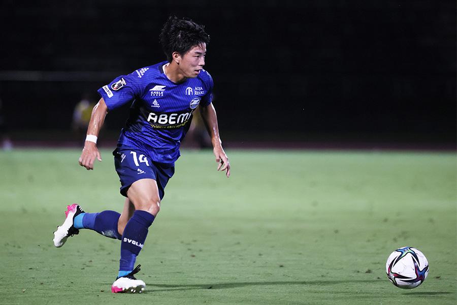 町田所属2年目の吉尾はここまでチーム内得点王の活躍【写真:ⓒFCMZ】
