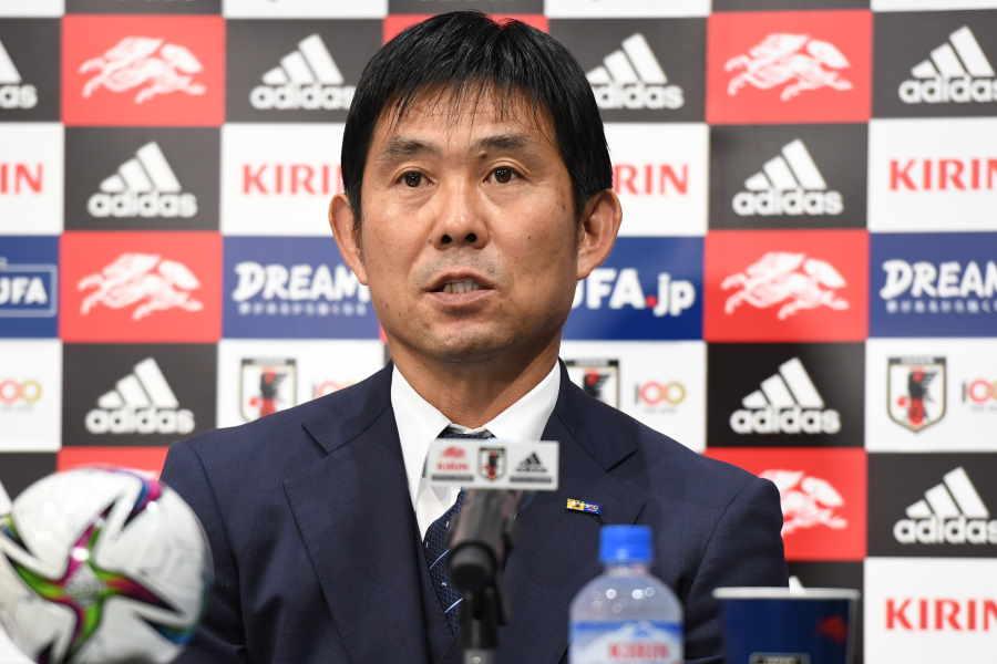 日本代表を率いる森保監督【写真:©JFA】
