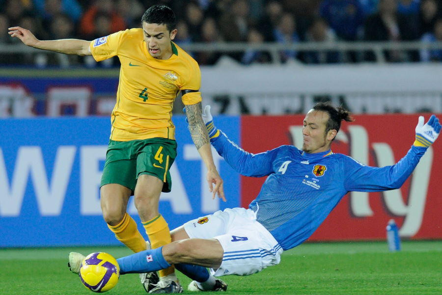 オーストラリアと対戦した元日本代表DF田中マルクス闘莉王氏【写真:Getty Images】
