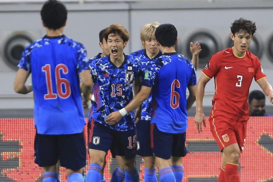 日本代表は大迫の1点を守り切り勝利【写真:AP】