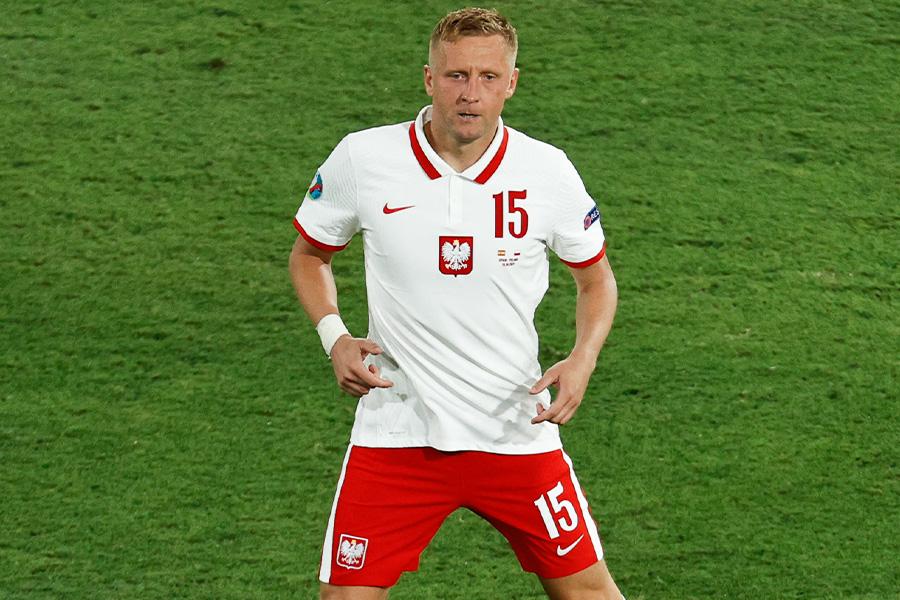 ポーランド代表DFカミル・グリク【写真:Getty Images】