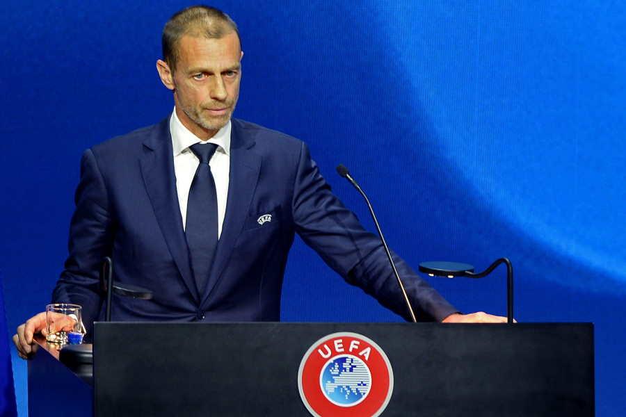 欧州サッカー連盟(UEFA)のアレクサンダー・チェフェリン会長【写真:Getty Images】