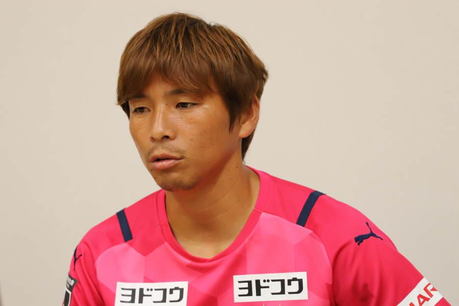 C大阪の元日本代表MF乾貴士【写真:©CEREZO OSAKA】