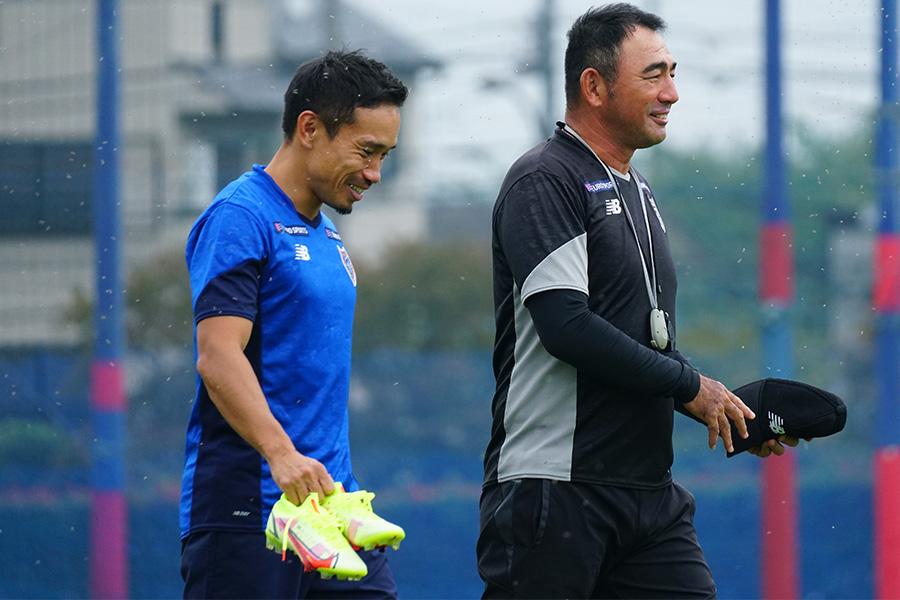 FC東京への復帰が決定したDF長友佑都【写真:ⓒFC TOKYO】