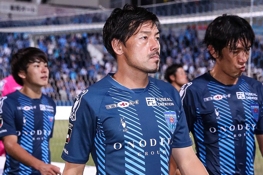 フットサルへの転身を決めたMF松井大輔(※写真は横浜FC時代)【写真:Getty Images】