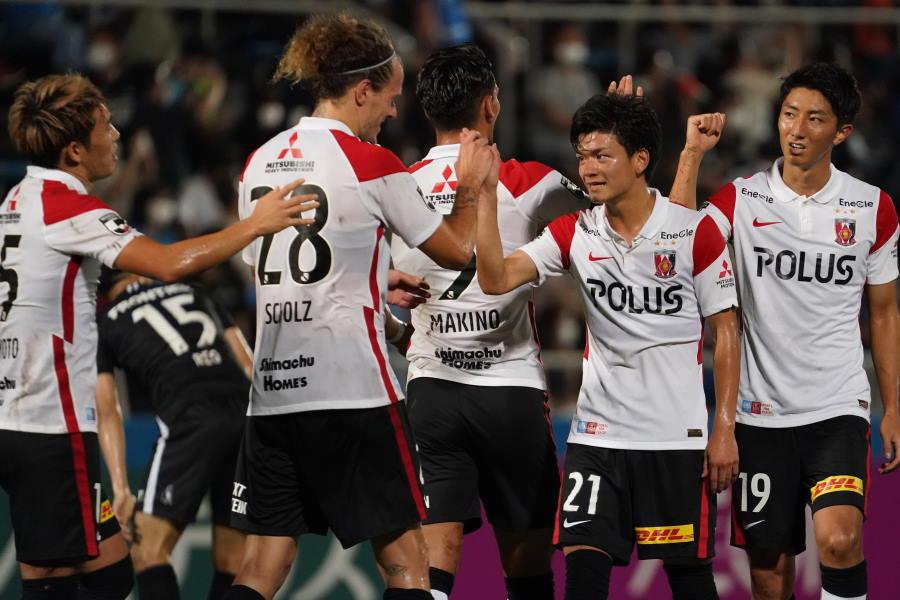 公式戦8戦無敗で残り10試合を迎える浦和【写真:Getty Images】