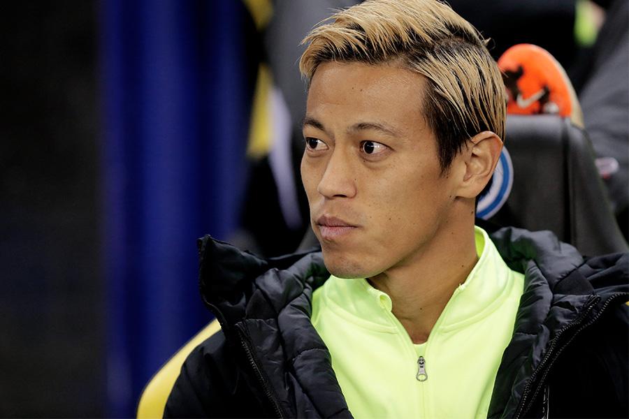 スドゥバでのデビュー戦でゴールを決めたMF本田圭佑【写真:Getty Images】