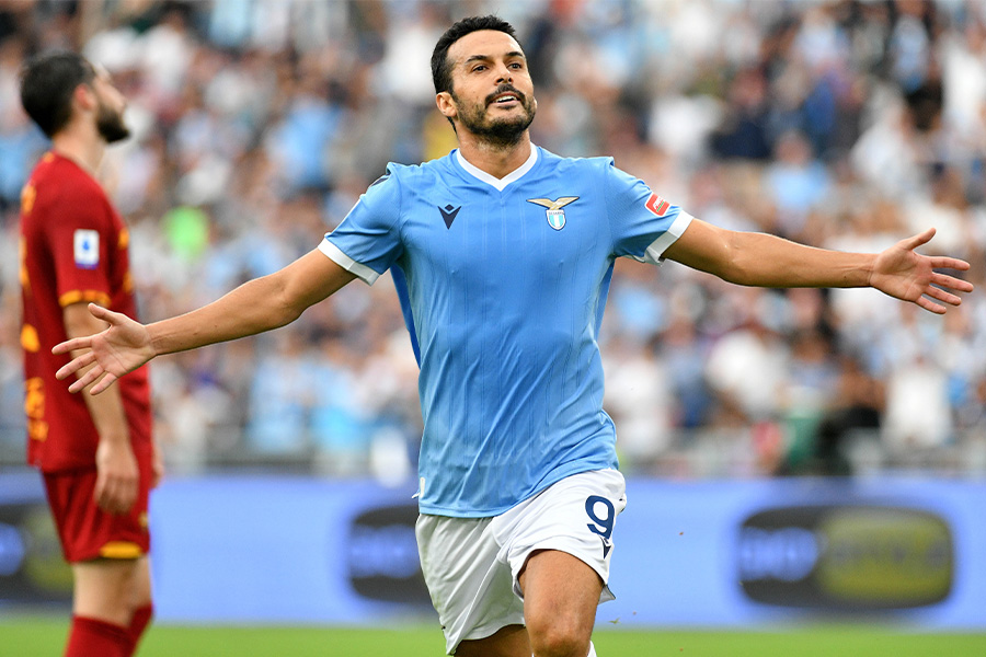 ラツィオでプレーするFWペドロ・ロドリゲス【写真:Getty Images】