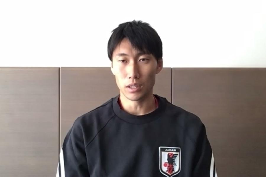 攻撃面での活躍が期待されるMF鎌田大地【画像はスクリーンショットです】