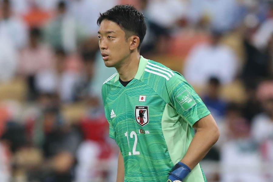 日本代表GK権田修一【写真:©JFA】