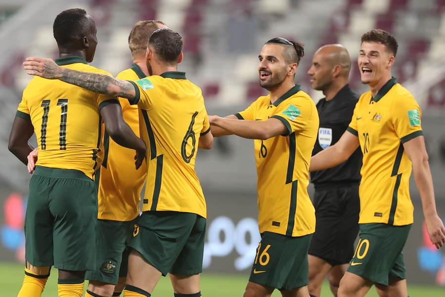 オーストラリアがW杯予選における世界記録を達成【写真:Getty Images】