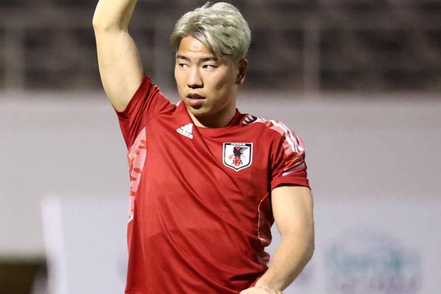 日本代表FW浅野拓磨【写真:Yukihito Taguchi】