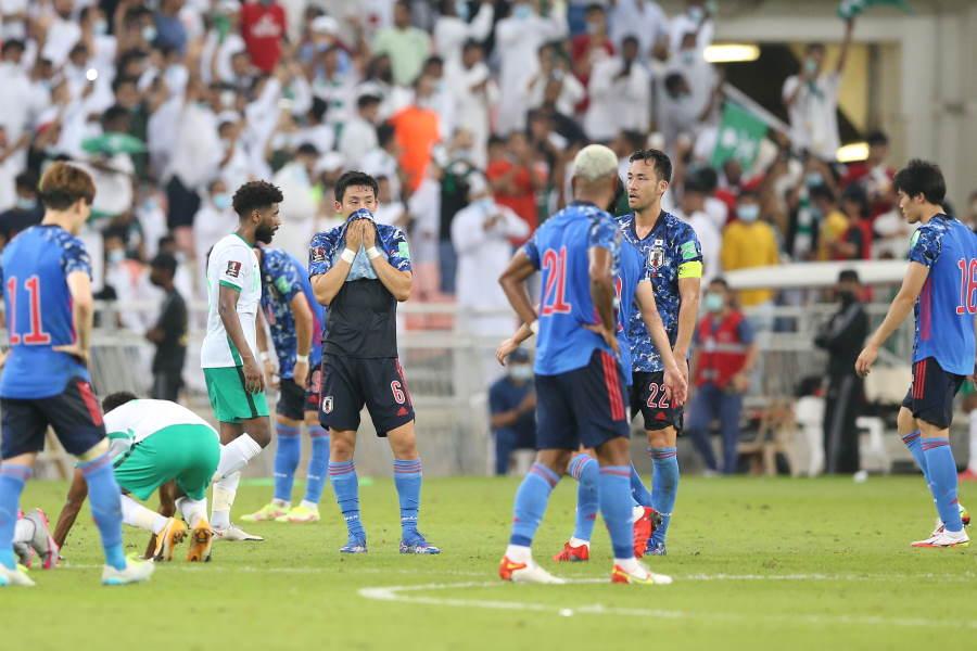 日本代表はサウジアラビアに0-1で敗れた【写真:©JFA】