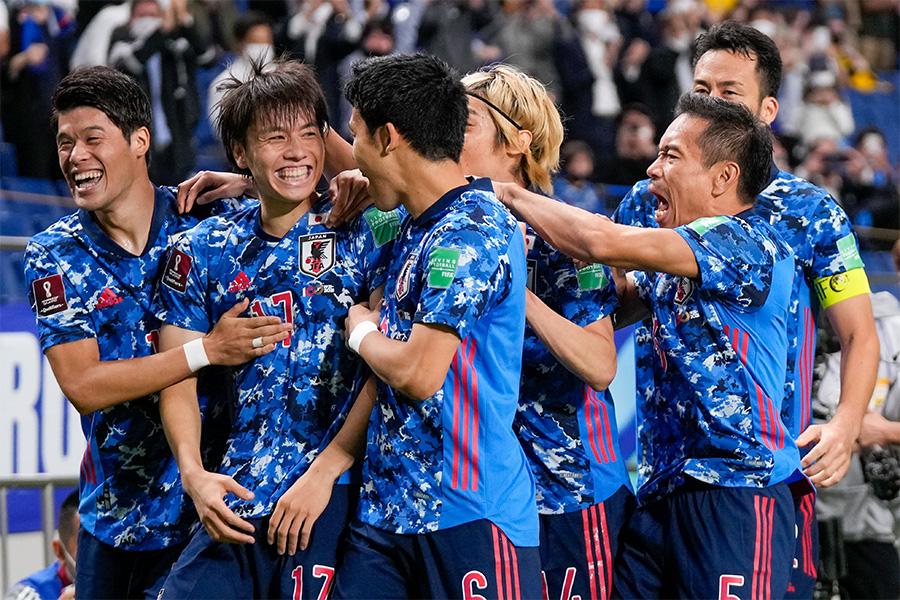 日本代表がオーストラリア戦代表に勝利【写真:AP】